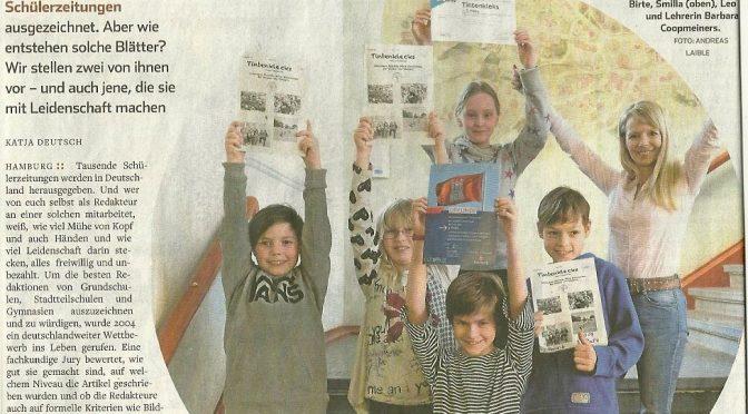 Interview mit dem Hamburger Abendblatt