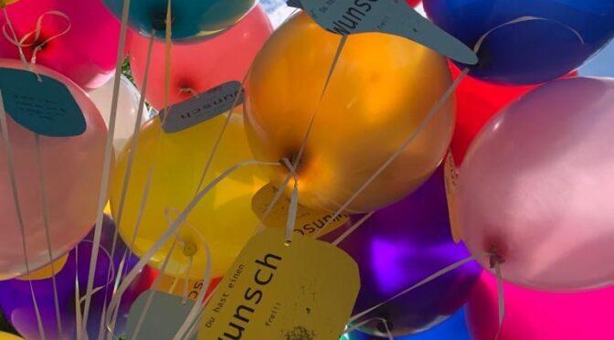 Luftballons statt Sommerfest, 4c