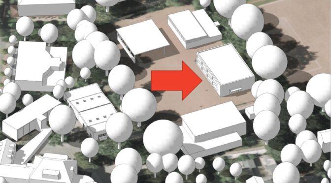 Neubau an der Schule Frohmestraße: Newsletter 1